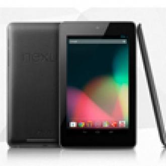 16GB'lık Nexus 7, Play Store'da Tükendi