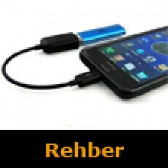 Android'te USB OTG Özelliğini Kullanıyoruz