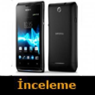 Sony Xperia E Video İnceleme