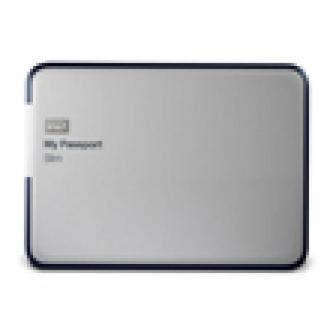 İnce 2 TB'lık Taşınabilir Disk, My Passport Slim