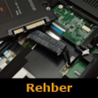 Taşınabilir Bilgisayarlarda Disk Değişimi