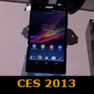 Xperia Z, CES 2013'te Görüntülendi