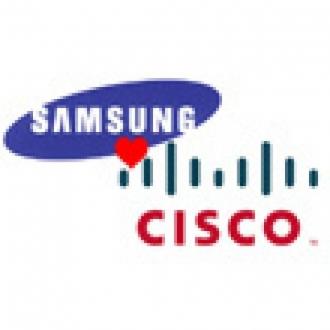 Samsung ve Cisco İmzayı Attı