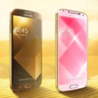 """Samsung'dan """"Altın"""" Galaxy S4'ler"""