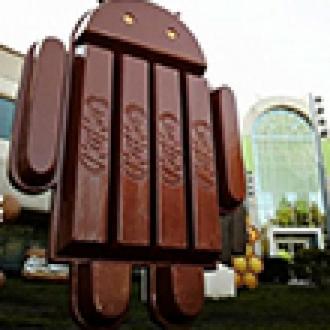 Android KitKat'ın Payı %8.5'e Yükseldi
