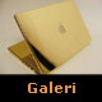 24 Ayar Altın Macbook Pro