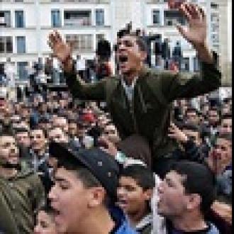 Cezayir'de Facebook Şoku