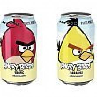 Angry Birds Gazozu Zirveye Oynuyor
