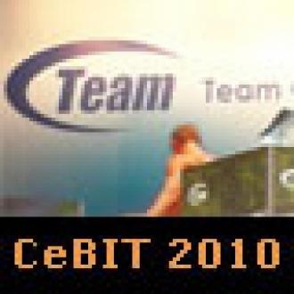 CeBIT 2010: Belleklerin İddialı İsmi