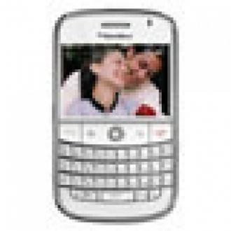 Sevgiliye Beyaz BlackBerry