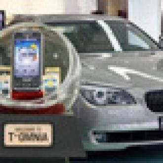 BMW Alana Samsung Şarj Bedava