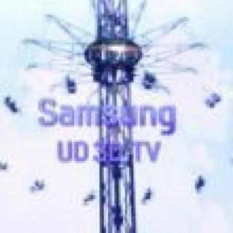 Samsung'dan Dev 3D TV Atağı