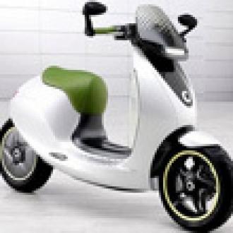 Smart'tan eScooter Konsepti