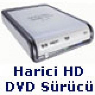 Harici (USB 2.0) HD-DVD Sürücü