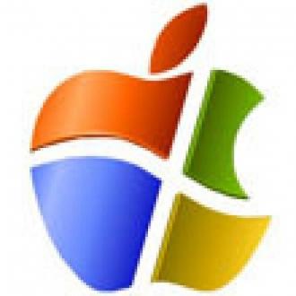 Apple Store'da Windows Logosu