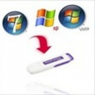 USB Bellekten Windows 7 Kurmak