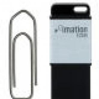 Ataş Büyüklüğünde USB Bellek