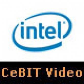 Intel Standında Şov Vardı