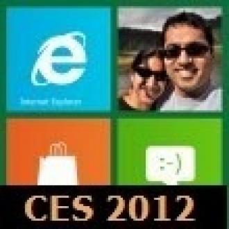 CES 2012: Windows 8 Tegrada Çalışıyor