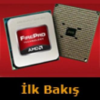 AMD'den Profesyonellere FirePro APU