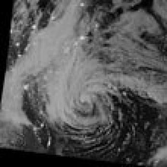 Sandy Kasırgası Uzaydan Nasıl Görünüyor?