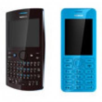 Nokia Asha 205 ve 206 Türkiye'ye Geliyor