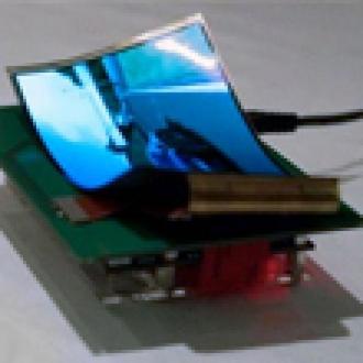 Samsung'tan 5.5 inçlik Bükülebilir Ekran