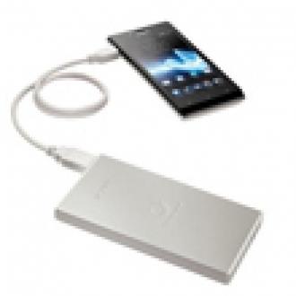 Sony'den 7000 mAh'lik Yeni Taşınabilir Pil Çözümleri