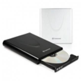 Transcend'ten Ultrabook için Ultra İnce DVD Yazıcı
