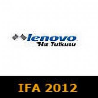 Lenovo Ürünlerini IFA 2012'de İnceledik