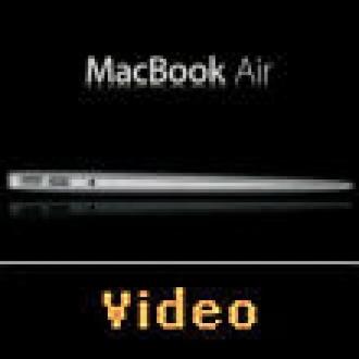 MacBook Air'i Havaya Uçurdular