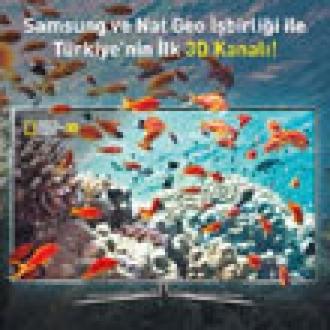 Türkiye'nin İlk 3D Kanalı Yayına Açılıyor