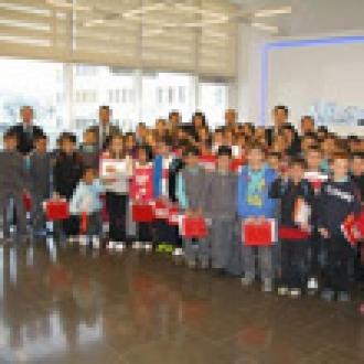 Ankara'daki Microsoft Ofisinin Misafirleri Vardı