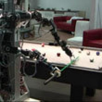 Bilardocu Robot İşbaşında