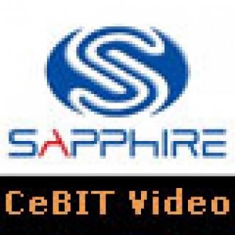 Sapphire Standında Performans Şov