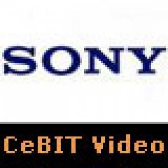 Sony'nin Yenileri CeBIT'teydi