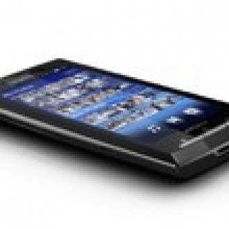 SonyEricson Xperia X10 Güncellendil