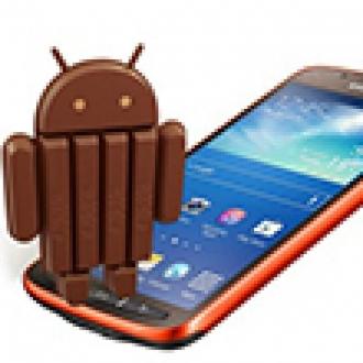 Galaxy S4 Active Kitkat'a Kavuştu!