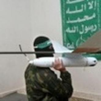 Filistin, İsrail Drone'unu Alt Etti