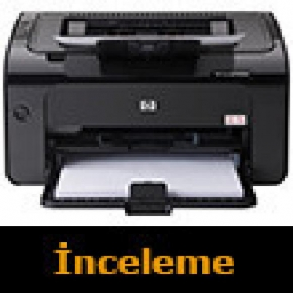 Her Yerden Yazar: HP Laserjet Pro P1102w