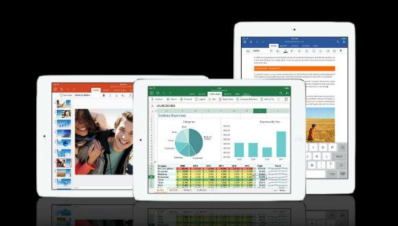 iPad için Office'e Kapsamlı Güncelleme