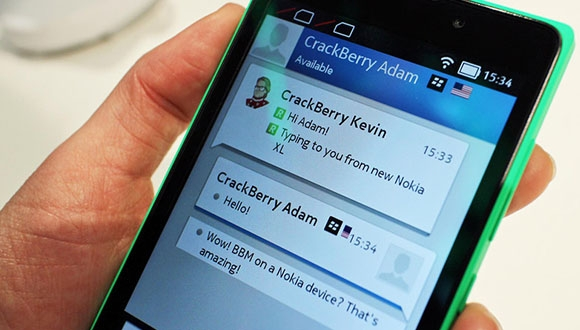 BBM Windows Phone'a Geldi
