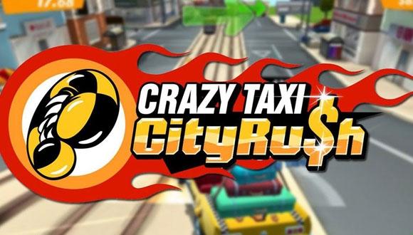 Crazy Taxi Rush iOS'a Geldi