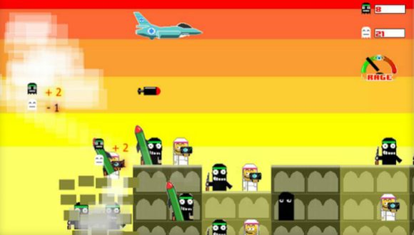 Gazze'yi Bombalama Oyununa Tepki
