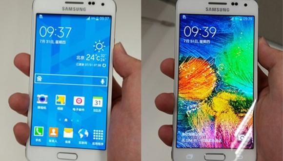 Galaxy Alpha iPhone 5S ile Yan Yana