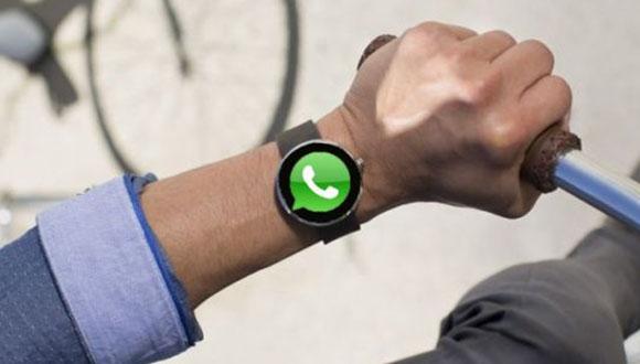WhatsApp Akıllı Saatlere Göz Kırptı