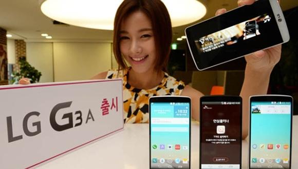 LG G3 A Tanıtıldı