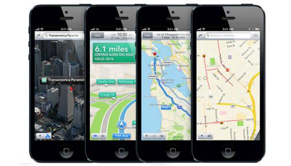 iOS Maps Google'ı Solladı!