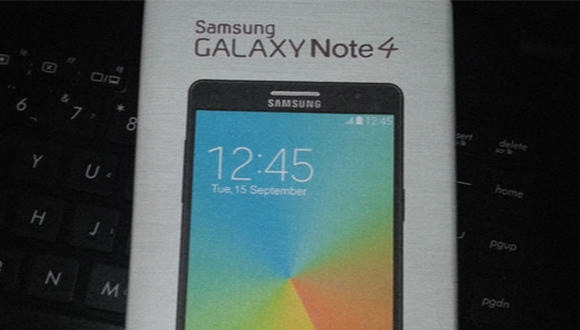 Galaxy Note 4 Görüntülendi!