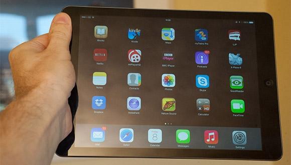 Yeni iPad'in Ekranı Yansımayacak
